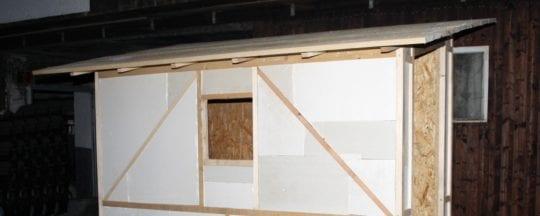 Winterfester Hühnerstall - Isolierung und Aufbau