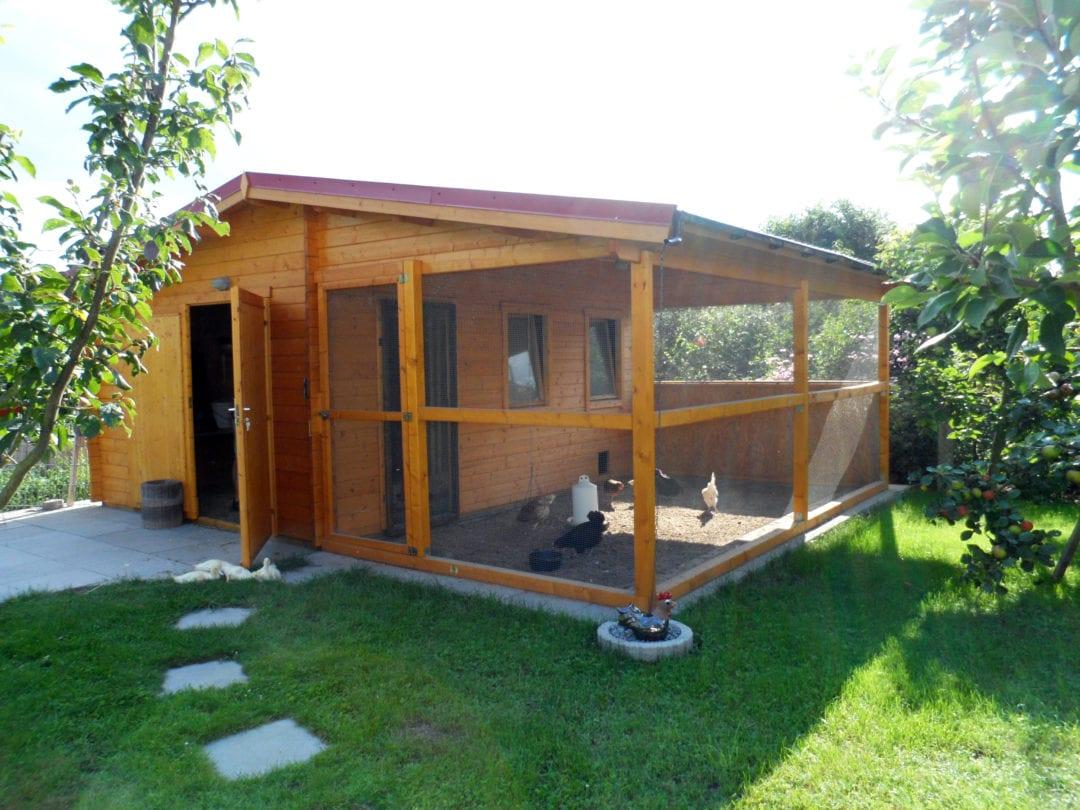 Gartenhaus als Hühnerstall