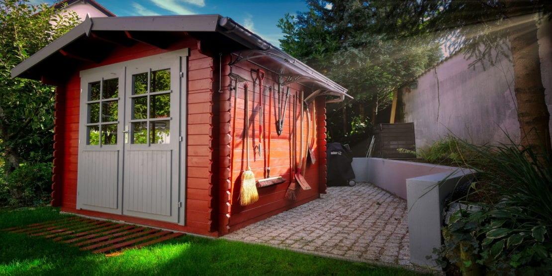 Gerätehaus zum Hühnerstall umbauen